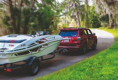 Boat Trailer Towing Challenge