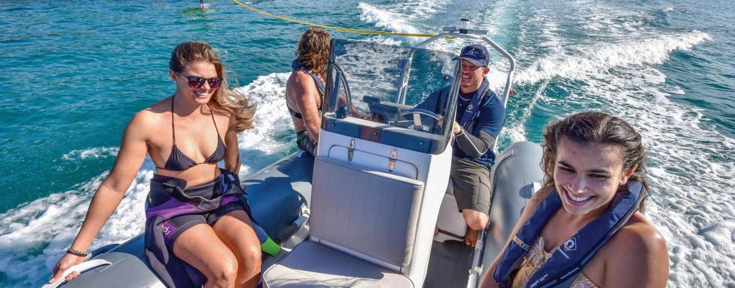 BLUE WATER 480 – Ideal tender or trailer boat